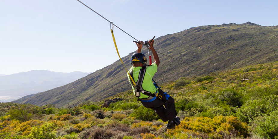 ziplining Citrusdal valley